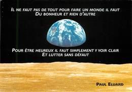 Politique - Evènement - Edition Pour La Fête De L'humanité - Cachets - Cachet Au Dos - Paul Eluard - Evènements