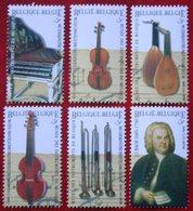 Muziek Music Musique Musik OBC N° 2912-2917 (Mi 2963-2968) 2000 POSTFRIS MNH ** BELGIE BELGIEN / BELGIUM - Ungebraucht