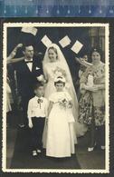 BRUID EN BRUIDEGOM + KINDEREN - 1961 (Ferrania ) - Marriages