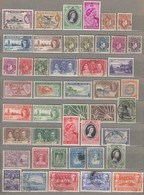 BRITHISH COLLONIES Nice Difference Used (o) / Mint (*) Stamp Lot Look 6 Scans #23185 - Non Classés