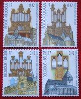 Kerkorgels Orgue Orgeln OBC N° 2926-2929 (Mi 2977-2980) 2000 POSTFRIS MNH ** BELGIE BELGIEN / BELGIUM - Ungebraucht