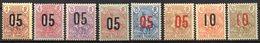 Col10    Guinée  N° 55 à 62 Neuf X MH Cote : 16,50 Euro Cote 2015 - Ungebraucht