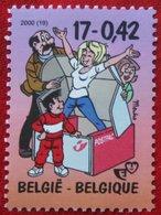 Jeugdfilatelie Strip Cartoon OBC N° 2934 (Mi 2985) 2000 POSTFRIS MNH ** BELGIE BELGIEN / BELGIUM - Ungebraucht