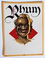 Ancienne étiquette Rhum 1063 MvdH - Rhum
