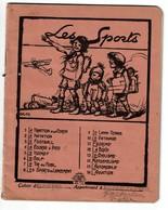 Cahier D'écolier C1935, Les Sports Illustré Par Jacques OCHS, Le Golf - Texte De Victor Boin - 3 Scans - Buvards, Protège-cahiers Illustrés