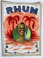 Ancienne étiquette Rhum 1060 MvdH - Rhum