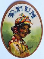 Ancienne étiquette Rhum Martinique Déposé 1228 M. F. - Rhum