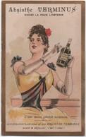 Chromo Ancien/ ABSINTHE TERMINUS/ C'est Mon Péché Mignon/ PONTARLIER/Champenois/Vers 1890-1900       IMA526 - Other
