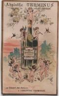 Chromo Ancien/ ABSINTHE TERMINUS/ Le Concert Des Amours/ PONTARLIER/Champenois/Vers 1890-1900       IMA527 - Autres