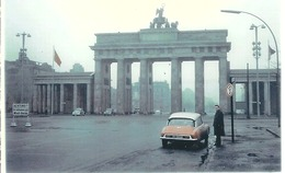 Ein   Foto  Von  Berlin   Aus Dem Jahre 1958 Mit Auto DS - Repro's