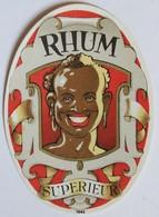 Ancienne étiquette Rhum Supérieur 1062 - Rhum