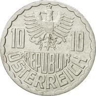 Monnaie, Autriche, 10 Groschen, 1991, Vienna, TB+, Aluminium, KM:2878 - Autriche