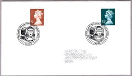 THE TRAVELLING POST OFFICE - LETTERS BY NIGHT - Correo Nocturno. Crewe 2004 - Correo Postal