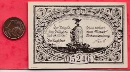 Allemagne 1 Notgeld 5 Pfenning  Stadt Freienwalde UNC (RARE) Lot N °2004 - [ 3] 1918-1933: Weimarrepubliek