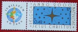 Jesus Christus OBC N° 2967 (Mi 3018) 2000 POSTFRIS MNH ** BELGIE BELGIEN / BELGIUM - Neufs