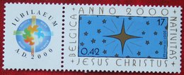 Jesus Christus OBC N° 2967 (Mi 3018) 2000 POSTFRIS MNH ** BELGIE BELGIEN / BELGIUM - Ungebraucht