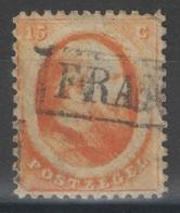 Pays-Bas - YT 6 Oblitéré - 1864 - Signé Brun - Period 1852-1890 (Willem III)