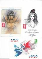 Bicentenaire De La Révolution Française - Lot De 14 CM Diff. ( Avec Oblit . 1er Jour Et Temporaires Illustrées )- PE ( V - Cartes-Maximum