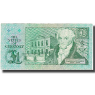 Billet, Guernsey, 1 Pound, UNDATED 1991, KM:52c, TB+ - Guernsey