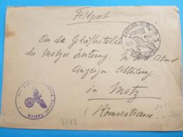 S2- ZABERN   Feldpost  30/ 8/1943 - Alsace-Lorraine