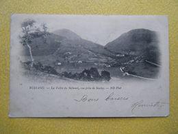 BUSSANG. La Vallée Du Séchenat Vue De Sautey. - Bussang