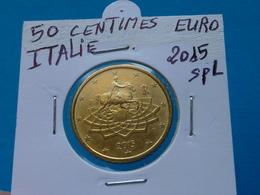 50 CENTIMES EURO ITALIE 2015 Spl  ( Sous étui H B ) - Italie