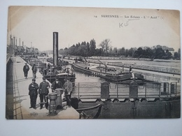Suresnes    (peniche )schiffe Arken - Péniches