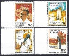 Niger Yv  710/13 Portraits Artistes Nationaux ** Mnh - Niger (1960-...)