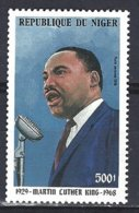 Niger Yv  PA 348 Portrait Martin Luther King ** Mnh - Niger (1960-...)