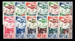 Grande Série Coloniale UPU 1949 Complète Neufs *. B/TB. A Saisir! - 1949 75e Anniversaire De L'UPU