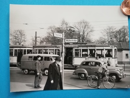 Berlin-Wedding, Müllerstr. /Seestr., Strassenbahn U. A., 1960 - Wedding
