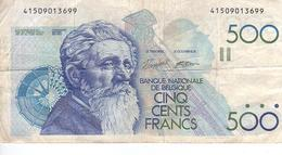 500 Francs N° 86 B - [ 2] 1831-... : Royaume De Belgique