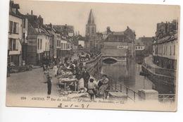 Amiens  Rue Des Majors  Le Marche Des Brocanteurs - Amiens