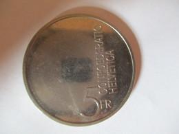 Suisse: 5 Francs 1985 - Pièce Commémorative Europe - Svizzera