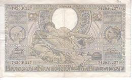 Billet 60 D - 22.08.41 - [ 2] 1831-... : Royaume De Belgique