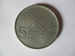 Suisse: 5 Francs 1988 - Pièce Commémorative Mouvement Olympique - Switzerland