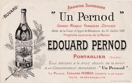 Buvard Publicité Edouard PERNOD / Absinthe Supérieure / 25 Pontarlier / Imp; Reuchet Fougerolles 70 - Sin Clasificación