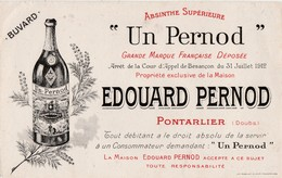 Buvard Publicité Edouard PERNOD / Absinthe Supérieure / 25 Pontarlier / Imp; Reuchet Fougerolles 70 - Blotters