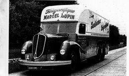Camion Delahaye Frigorifique Pour La Marque 'Marcel Lupin'  -  15x10cm PHOTO - Camion, Tir