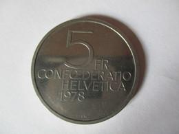 Suisse: 5 Francs 1978 - Pièce Commémorative Henry Dunant - Switzerland