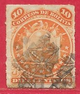 Bolivie N°26 10c Orange 1887 O - Bolivie