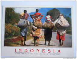 Cpm Indonesia Wamena - Irian Jaya Sight Seeing Dani Kids - Asie