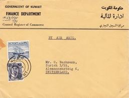 Koweït Government Of Kuwait Finance Department Control Register Of Commerce Switzerland Zurich دولة الكويت - Koweït