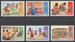 Tokelau 1983 Mi# 90-95** TRADITIONAL GAMES - Tokelau