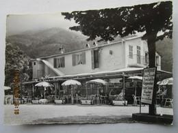 CP 06 MONTI Hameau Vers Menton Route De Sospel - Le Restaurant PENSION Chez Pierrot Pierrette - Menton