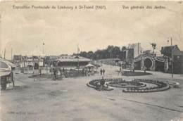 St-Trond - Exposition Provinciale 1907 - Vue Générale Des Jardins - Sint-Truiden