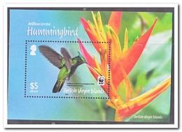 Britse Maagdeneilanden 2014, Postfris MNH, Birds, WWF - Britse Maagdeneilanden