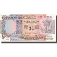 Billet, Inde, 50 Rupees, Undated (1978), KM:84c, TTB+ - Inde