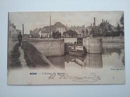 Menin Menen (peniche )schiffe Arken - Péniches