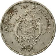 Monnaie, Seychelles, Rupee, 1982, British Royal Mint, TB, Copper-nickel, KM:50.1 - Seychelles